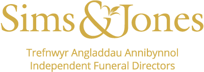 Funeral Directors, Swansea - Sims and Jones Logo