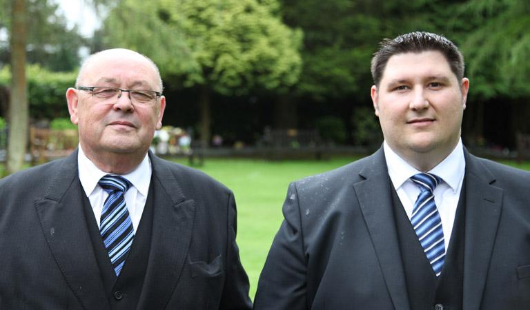 Funeral Directors Swansea, Gareth Sims and Matthew Ioan Sims