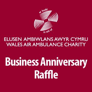 Wales Air Ambulance Charity Raffle